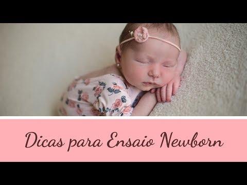 Vídeo Ensaio newborn dicas