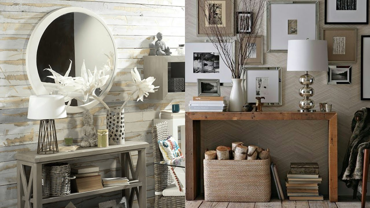 Ideas para decorar la entrada de casa o recibidor | Tendencias en  decoración interior 2019 2020 ❤