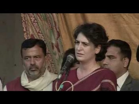 Priyanka Gandhi campaigns in UP