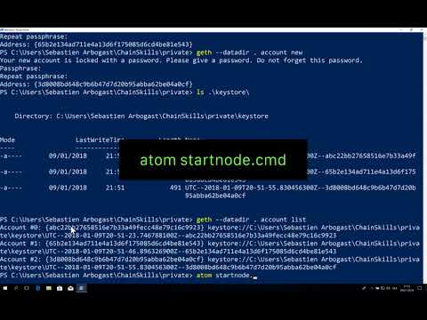 Set Up A Private Ethereum Node On Windows