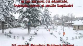 Urare de sarbatori Primaria Boldesti-Scaeni.wmv