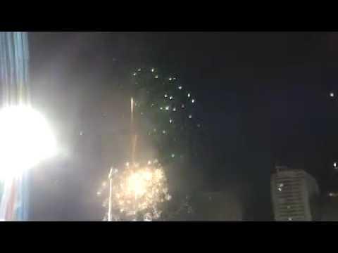 Grand Fireworks at Rizal Memorial Stadium