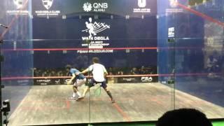 Wadi Degla Squash World Championship 2016 - Final - Ramy Ashour v Karim Abdel Gawad - 1st Game