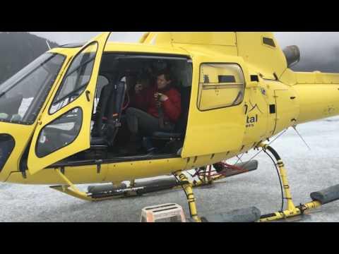Juneau, Alaska- Coastal Tours Helicopter Trip to Herbert Glacier