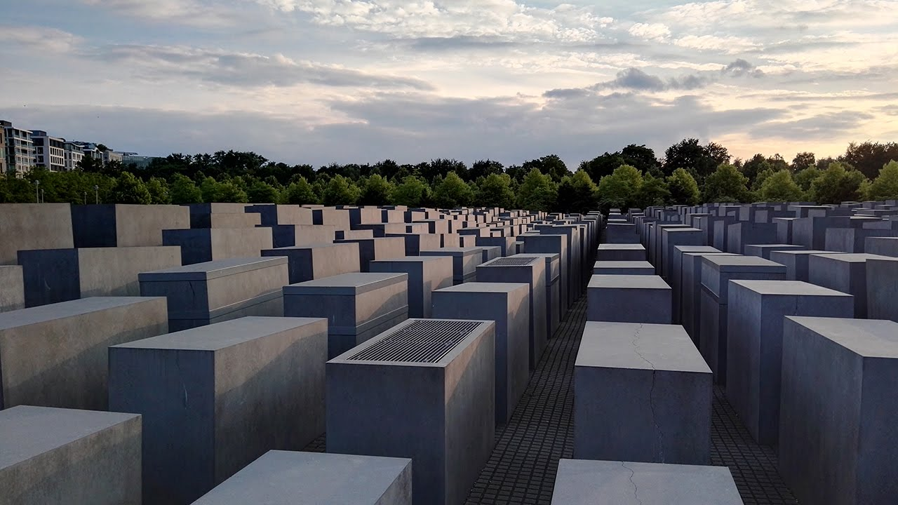 The Memorial to the Murdered Jews of Europe (The Holocaust Memorial),  Berlin - YouTube