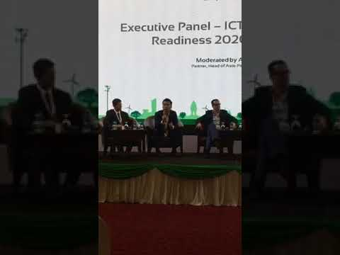 Executive Panel – ICT Connectedness and Readiness 2020 for Cambodia  Moderated by Amrish Kacker