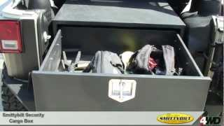 Smittybilt - Secure Locking Cargo Box For Jeep Wrangler - Jeep Universal Storage Boxes