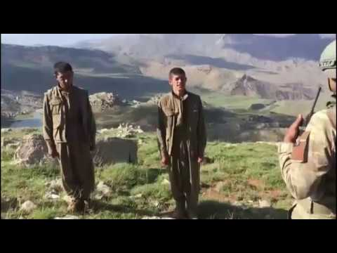 Siirt'te teröristler böyle teslim oldu.....
