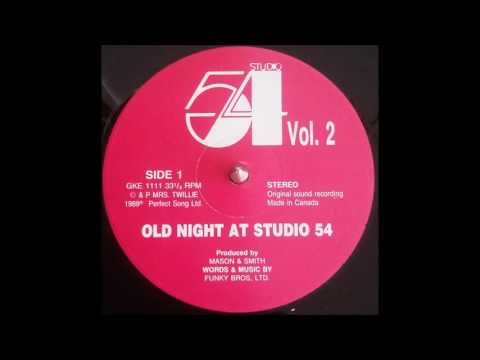 Old Night At Studio 54 Vol.2 Face A 1989