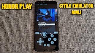 Honor Play - Batman: Arkham Origins Blackgate - Citra 3DS Emulator MMJ - Test