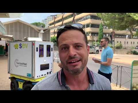 Services Écusson Vert @ Montpellier avec les droïdes cargo
