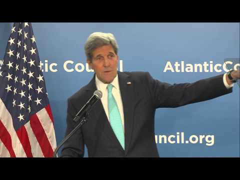 Secretary Kerry Delivers Remarks on Climate Change at the Atlantic Council