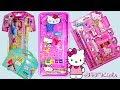 Hello Kitty Pencil Box with Pinball Game, Password Lock and Disney Princess School Stationery Set