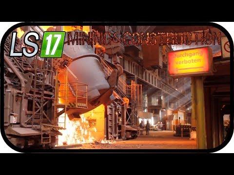 LS17 Mining & Construction Economy V1 - Eisen und Stahlproduktion #064 SE02 ★Deutsch