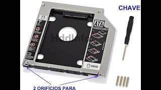 Adaptador Caddy Sata 12,7mm 2015 3454#%