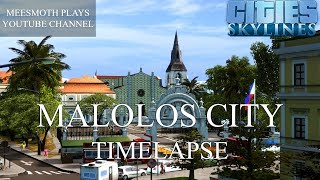 Cities: Skylines - Malolos City Timelapse