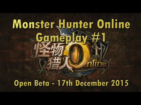 Monster Hunter Online Gameplay #1 - English Commentary, Chinese Game