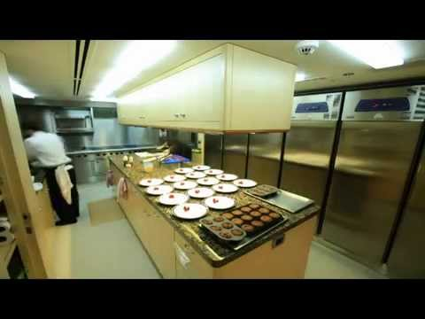 private Chef on a yacht cooking full blast