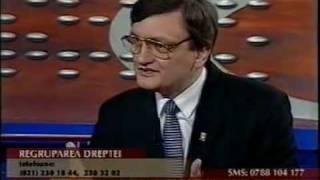 5.12.2002 - Gabriel Oprea - numit prefect al Capitalei si regrupare pentru anticipate