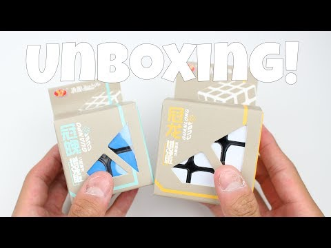 YJ GuanLong + GuanPo Plus Unboxing! | Speedcubeshop.com