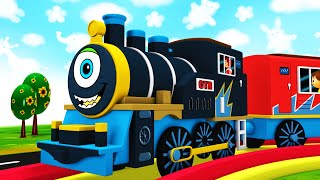 What A Surprise - Toy Factory Animated Choo Choo Toy Train Cartoon for Kids - Trains