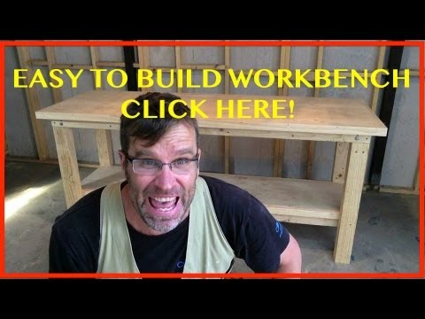 How to Build a Workbench. Easy, Cheap & Sturdy 😁