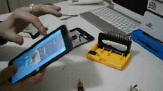 как заменить тачскрин? замена тачскрина планшет OYSTERS T72HM