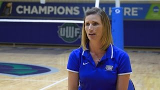 2015 UWF Volleyball Preseason Video