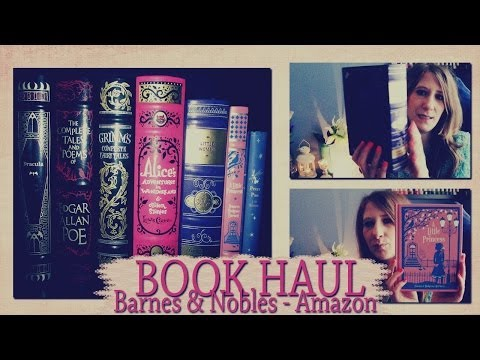 Book/Livres Haul Barnes & Nobles, Amazon...