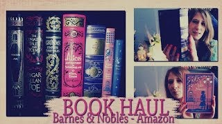 Book/Livres Haul Barnes & Nobles, Amazon...