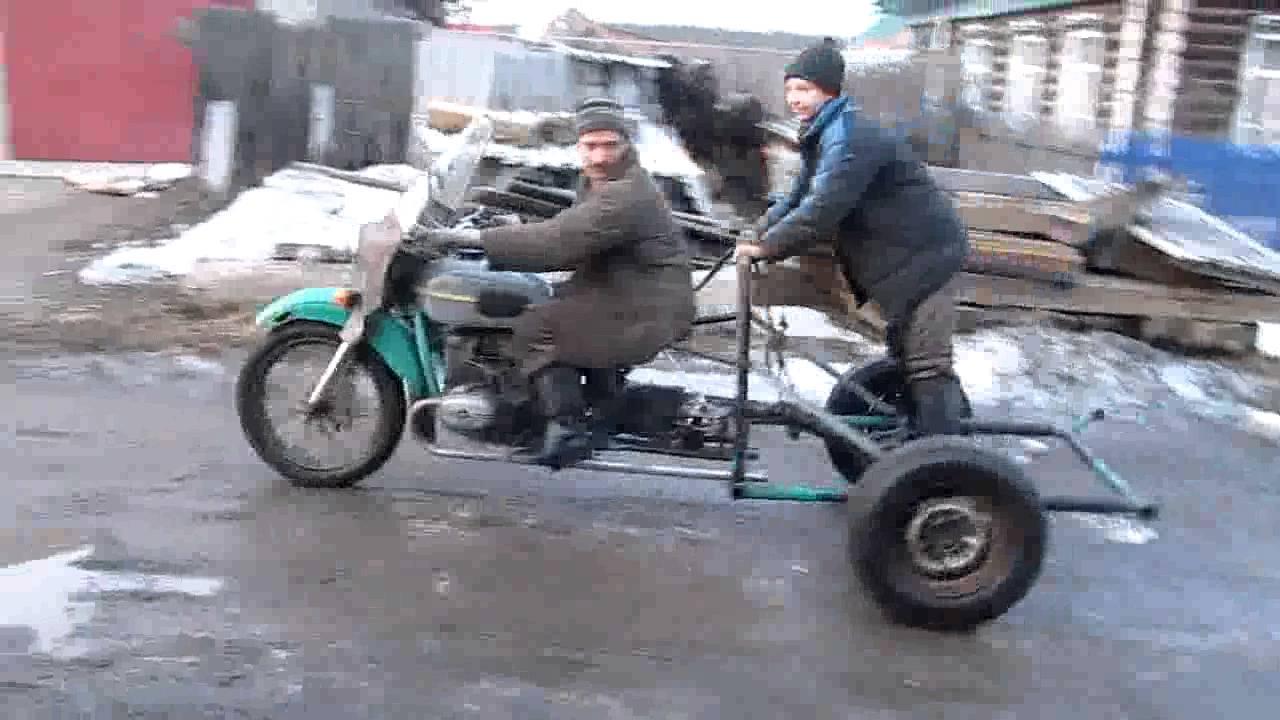 Самодельный трицикл из Урала своими руками: видео