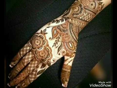 Latest Heena Mehndi Design 2018 Mehndi Art Rose Tattoo Mehndi