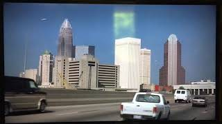 "Uptown Charlotte skyline as seen in 1994 drama film ""Nell"""