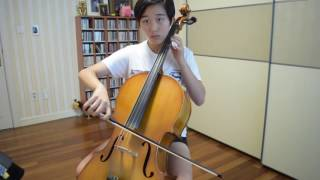 Cello 11 month progress video