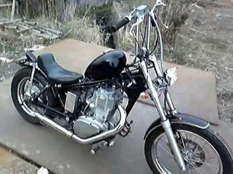 suzuki savage Chopper - YouTube