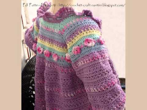 Baby Girl Cardigan Knitting Pattern