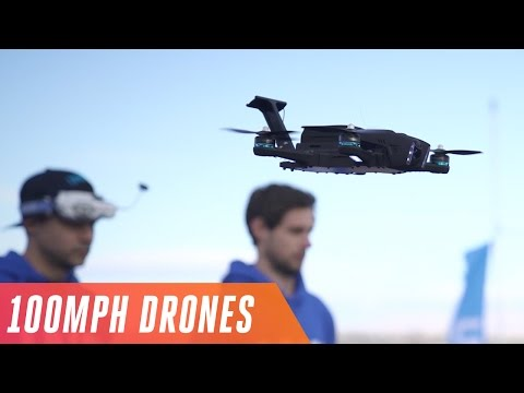 Download Youtube: Racing drones at 100 MPH in the Las Vegas Drone Rodeo
