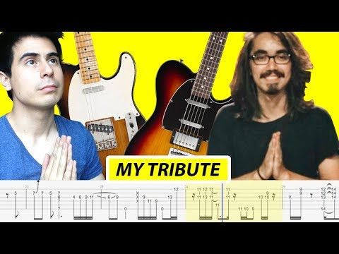 Mateus Asato - My Tribute (with TABS, Standard Tuning) - By Riff_Hero