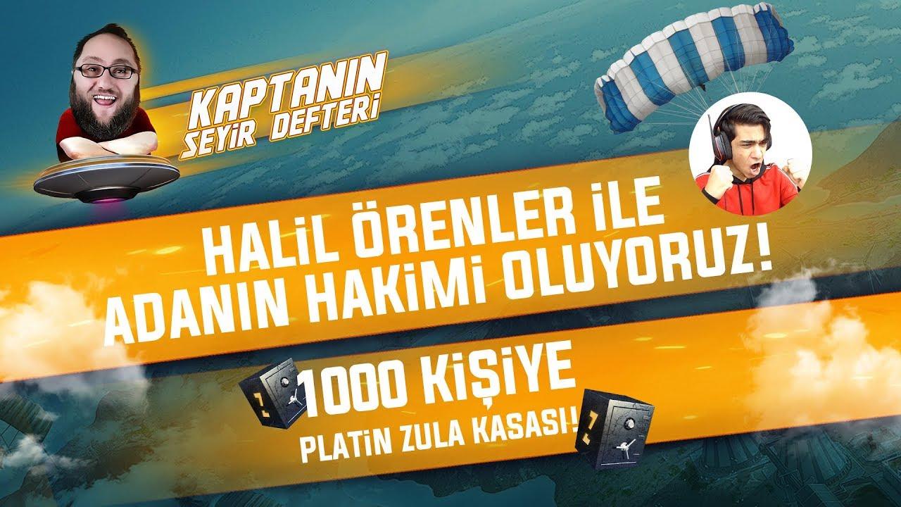KAPTANIN SEYİR DEFTERİ! 1000 KİŞİYE PLATİN ZULA KASASI /w HALİL ÖRENLER