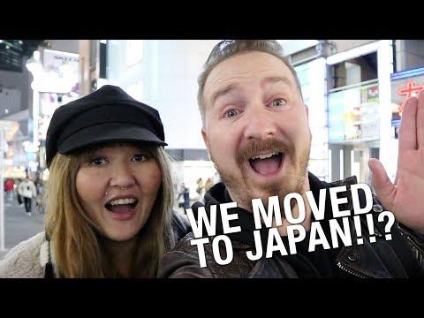 Japan Trip 16 VLOG #1 - WE MOVED TO JAPAN?!