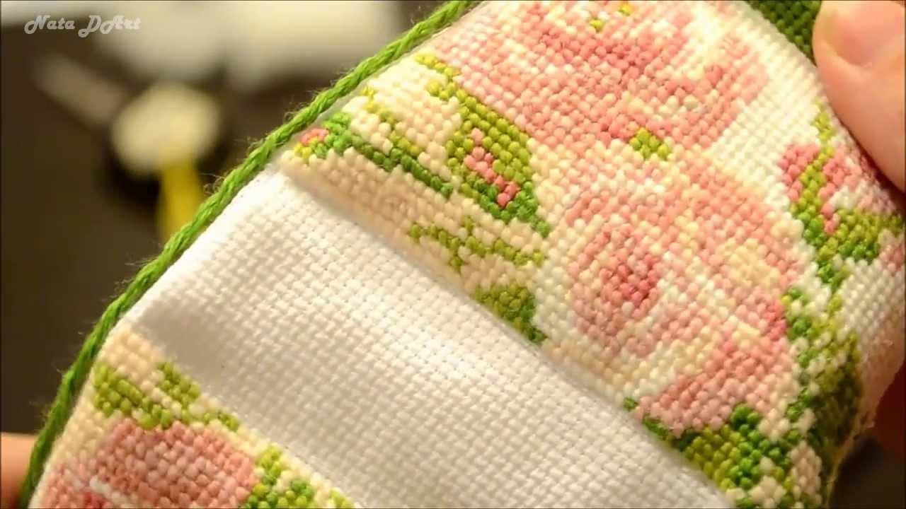 Схемы вышивок крестом сумочка-игольница