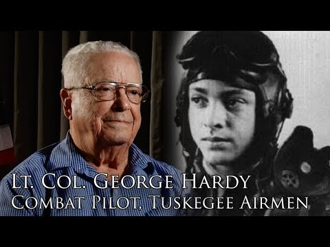 Lt. Colonel George Hardy, Tuskegee Airmen (Full Interview)