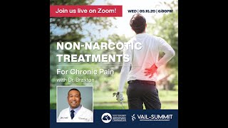 Non Narcotic Treatments for Chronic Pain with Dr. Braxton