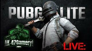 AK-47gamer on live stream/pubg lite solo Vs squad gaming
