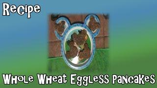 Whole Wheat Eggless Pancakes Recipe With Vegan Option
