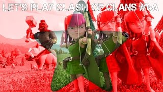 Clash of Clans [HD] #006-A - CLAN BESUCH ! & Clankrieg Angriff ! / Let's Play Clash of Clans ! GER