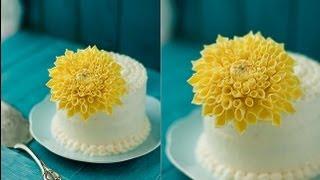 Tutorial Fiori in Pasta Zucchero ,Gumpaste Dahlia Flower