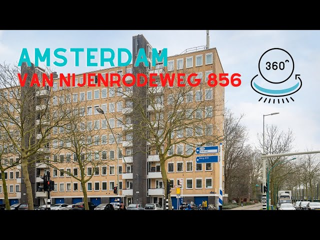 360 graden video YouTube - Van Nijenrodeweg 856 Amsterdam