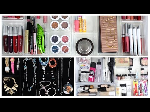 Makeup Collection & Storage + Jewelry & Art Organization