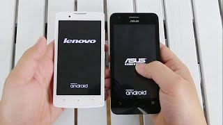 Asus Zenfone C  vs Lenovo A2010 Speed Test
